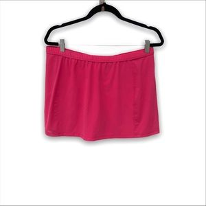 Nike Dri-Fit Pink Tennis Mini Skirt